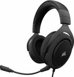 Casti Gaming Corsair HS50 Carbon Stereo Negre Casti Gaming