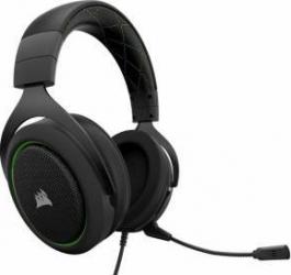 Casti Gaming Corsair HS50 Stereo Negre-Verzi Casti Gaming