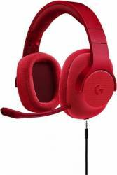 Casti Gaming Logitech G433 Surround 7.1 Rosu Casti Gaming