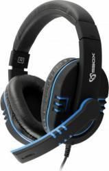 Casti Gaming SboxHS-401BBL Cu Microfon