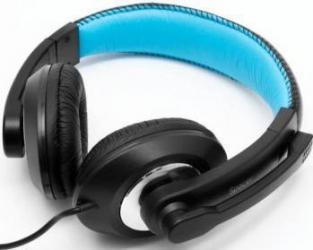 Casti Gaming Spacer Cu Microfon Stereo Negru