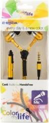 Casti handsfree E-Boda tip fermoar CML 400 Galben