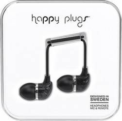 Casti Happy Plugs In Ear Saint Laurent Negru