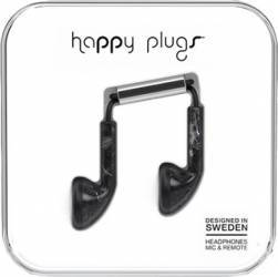 Casti Happy Plugs Saint Laurent Negru