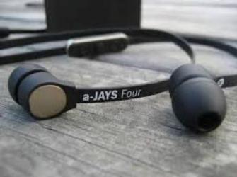 Casti In Ear A-Jays Four iOS Black Gold Casti telefoane mobile