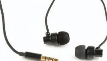 Casti In Ear Gembird cu  microfon Paris Negre Casti telefoane mobile