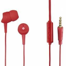 Casti In Ear Hama Basic Rosii Casti telefoane mobile