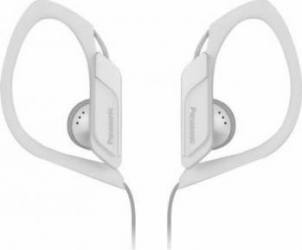 Casti In Ear Panasonic RP-HS34E-W 3.5mm 112dB Alb Casti