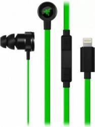 Casti in-ear Razer Hammerhead Lightning rz04-02090100-r3g1 Verde Casti telefoane mobile