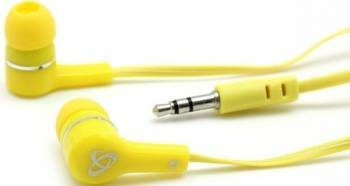 Casti In Ear SBOX EP-003 Galben