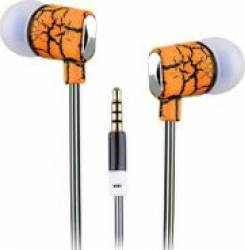 Casti In Ear Sbox EP-813O Microfon Portocaliu Casti telefoane mobile