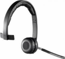 Casti Logitech Wireless Headset mono H820E cu microfon Casti