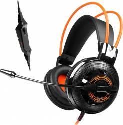 Casti Somic G925 Black Orange Casti Gaming