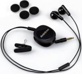 Casti Stereo Avantree Retractabile cu microfon Black