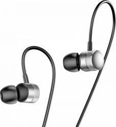 Casti Stereo Baseus Encok H04 Argintii Casti telefoane mobile