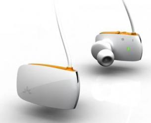 Casti stereo bluetooth Avantree Sacool Orange