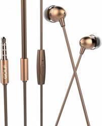 Casti stereo cu microfon Golf M7 Aurii Casti telefoane mobile