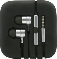 Casti Stereo Metalice Jack 3.5 - Argintiu Casti telefoane mobile