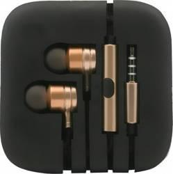 Casti Stereo Metalice Jack 3.5 - Auriu Casti telefoane mobile