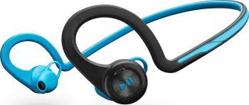 Casti Bluetooth Plantronics BackBeat Fit Albastre Casti Bluetooth
