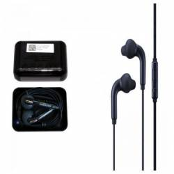 Casti Audio SAMSUNG In-Ear Cu Fir Microfon Jack 3.5mm + Cutiuta DepozitareTransport Negre Casti telefoane mobile