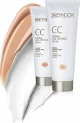 CC Cream Skeyndor Age Defence SPF 30 - 02 nuanta inchisa