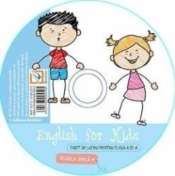 CD - English for kids clasa 3 - Rodica Dinca Carti