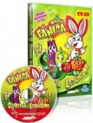 CD 3-7 ani Fanica si secretul legumelor - Jocuri educationale