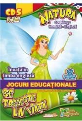 CD Natura se trezeste la viata - Bilingv Ro-Eng - Jocuri educationale
