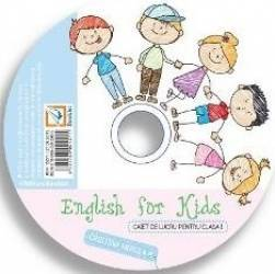CD English for Kids - Clasa 1 - Cristina Mircea
