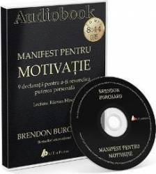 CD Manifest pentru motivatie - Brendon Burchard