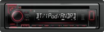Player Auto Kenwood KDC-BT520U 4x50W CD USB Bluetooth Aux-In Player Auto