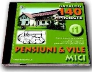 Cd proiecte pensiuni si vile mici volumul 1