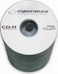 CD-R Esperanza 700MB 52x 100buc Spindle CD-uri si DVD-uri