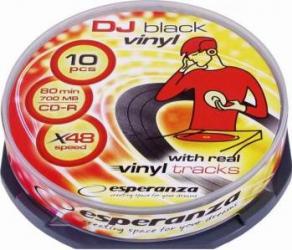 CD-R Esperanza 700MB 52x 10buc Vinyl CD-uri si DVD-uri