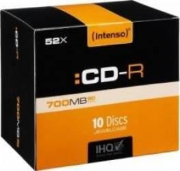 CD-R Intenso 700 MB Printable 10buc Slim Case CD-uri si DVD-uri