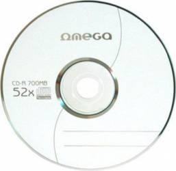 CD-R Omega 700MB 52x Plic CD-uri si DVD-uri