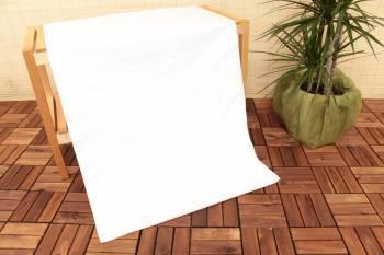 Cearceaf de pat dublu elastic US Polo 160 x 200 cm Alb