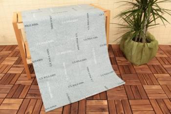 Cearceaf de pat elastic US Polo 100 x 200 cm Lima