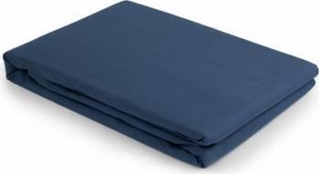 Cearceaf de Pilota Heinner Home Bumbac 200x220 cm, Albastru Cearceafuri si fete perna