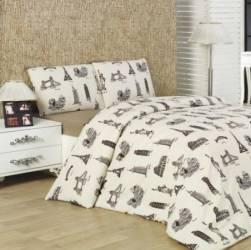 Cearceaf pat cu elastic Studio Casa-City Mix Cyt 180x200 cm Cearceafuri si fete perna