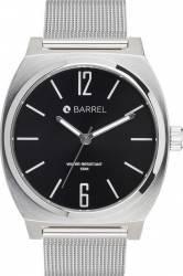 Ceas Barbatesc Barrel A-maze BA-4001-03 Silver-Black
