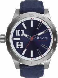 Ceas Barbatesc Barrel Swinger BA-4002-04 Navy-Silver