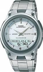 Ceas barbatesc Casio Casual AW-80D-7A Cadran Alb Curea Metal Ceasuri barbatesti
