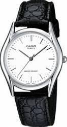 Ceas barbatesc Casio Clasic MTP-1154PE-7B Cadran Alb Curea Piele Ceasuri barbatesti