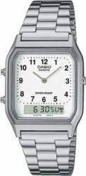 Ceas Barbatesc Casio Classic AQ-230A-7B Cadran Argintiu Curea Otel Inoxidabil Ceasuri barbatesti