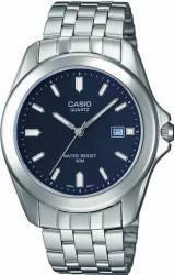 Ceas barbatesc Casio Classic MTP-1222A-2A Cadran Albastru Curea Metal Ceasuri barbatesti