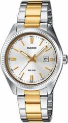 Ceas Barbatesc Casio Collection LTP-1302PSG-7A Silver-Gold Ceasuri barbatesti