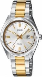 Ceas Barbatesc Casio Collection LTP-1302PSG-7A Silver-Gold Ceasuri barbatesti
