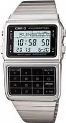 Ceas barbatesc Casio Databank DBC-611-1D Cadran Negru Curea Metal Ceasuri barbatesti
